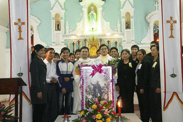 01/11/2011 – Thánh Lễ Bổn Mạng Và Mừng Sinh Nhật Lần 5