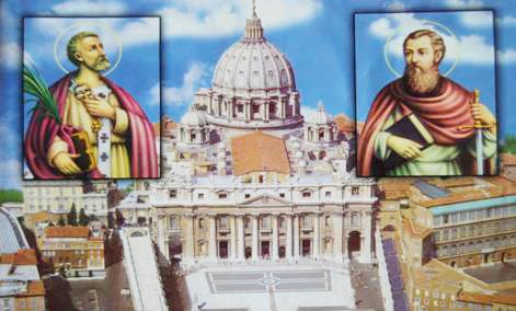 Thứ Ba Tuần 33 Thường Niên – Cung hiến thánh đường thánh Phê-rô và Phao-lô