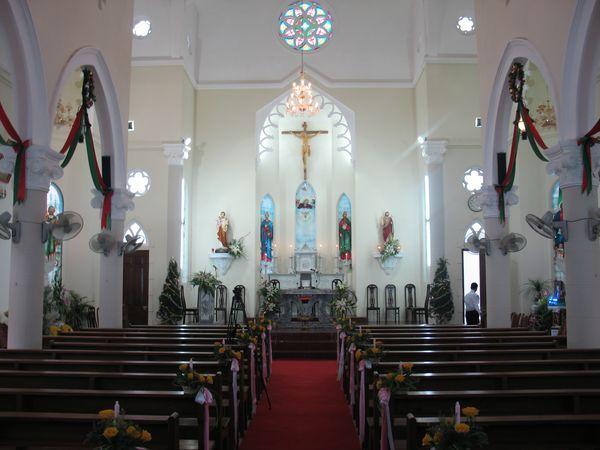 SVCG Di Trạch – Phú Mỹ – Trung Chí dâng hoa kính Đức Mẹ tại giáo họ Trung Chí