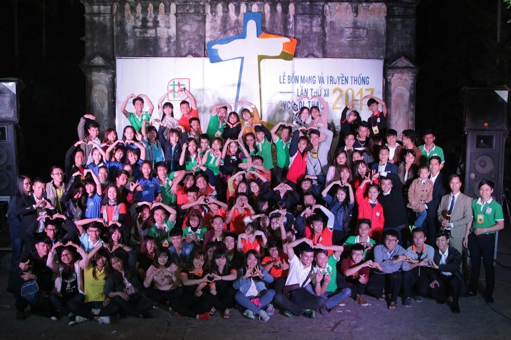 Hình ảnh chương trình văn nghệ mừng lễ Bổn Mạng và Truyền Thống lần thứ XI nhóm SVCG Di Trạch