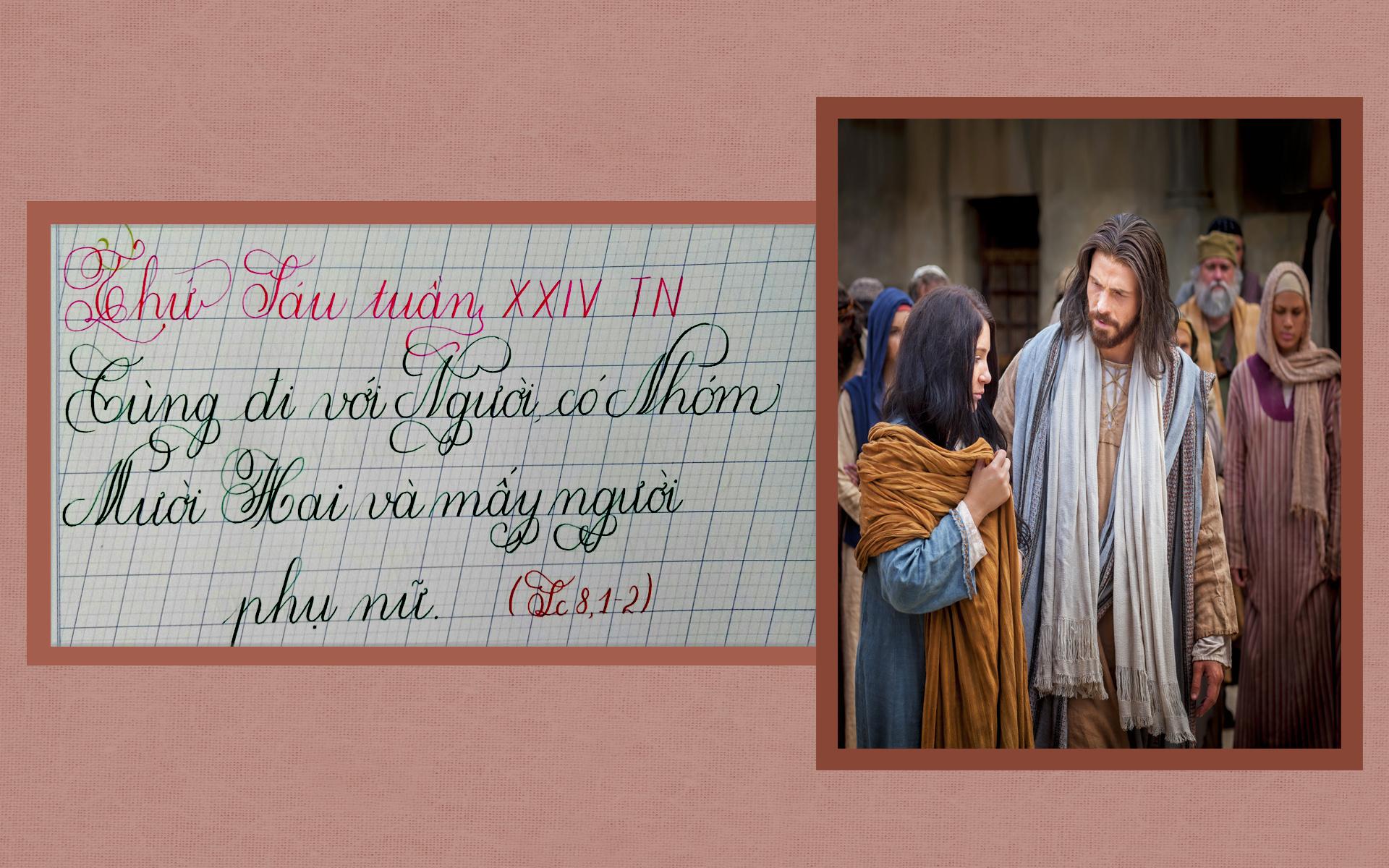 Suy Niệm Lời Chúa – Thứ Sáu Tuần XXIV Thường Niên