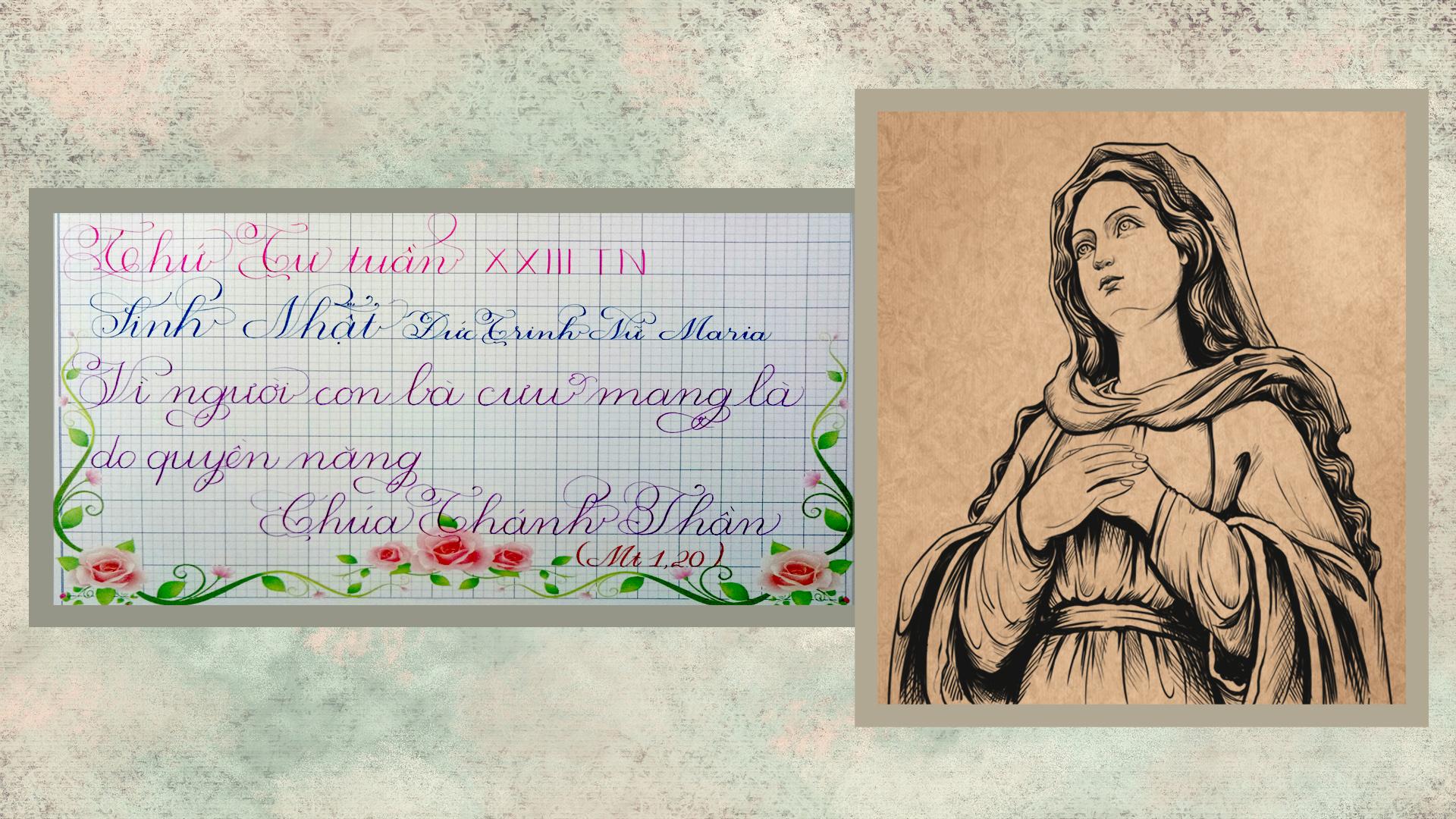 Suy Niệm Lời Chúa – Thứ Tư Tuần XXIII TN – Sinh Nhật Đức Trinh Nữ Maria