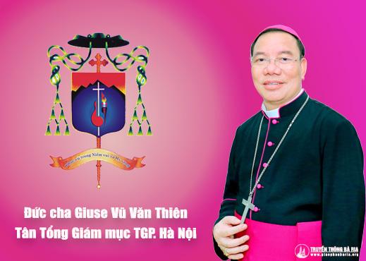 ĐTC Phanxicô bổ nhiệm Đức cha Giuse Vũ Văn Thiên làm Tổng giám mục Tổng giáo phận Hà Nội